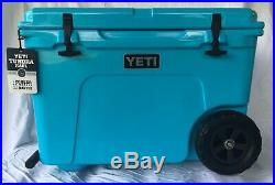 YETI Tundra Haul Reef Blue Cooler Limited Edition Color NEW