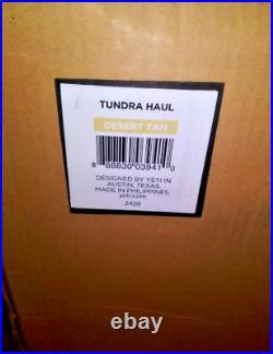 YETI Tundra Haul Wheeled Cooler Tan