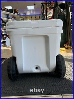 YETI Tundra Haul Wheeled Cooler White