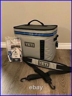 Yei Hopper Flip 18 Portable Soft Cooler Fog Gray New In Box