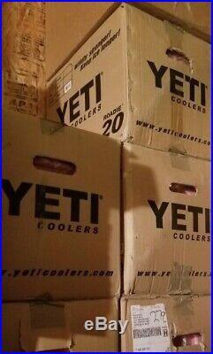 Yeti 20 Quart Pink Roadie Cooler! Limited Edition Color! Brand New In Box! L@@k