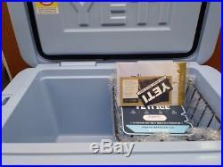Yeti 45 Quart BLUE Cooler- NEW in the YETI Box