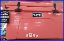 Yeti 45 Quart CORAL Cooler- NEW in the YETI Box LIMITED EDITION