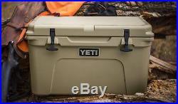 Yeti 45 Quart Tan cooler New in the Box