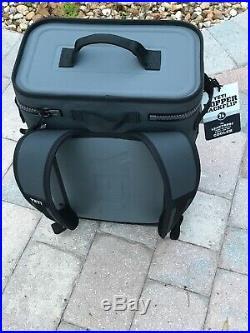 Yeti BackFlip 24 Soft Sided Cooler/Backpack, Fog Gray New