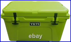 Yeti CHARTREUSE Tundra 45 Cooler Extremely RARE With GREEN LIGHTS