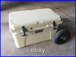 Yeti Cooler 45 Wheel Tire Axle Kit-COOLER NOT INCLUDED
