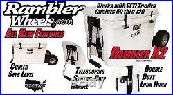 Yeti Cooler All Terrain Wheel System The NEW Rambler X2