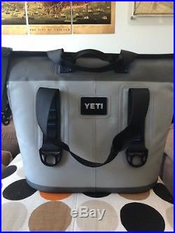 Yeti Cooler Hopper Two 30 In Fog Gray/Blue