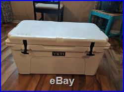 Yeti Cooler Ice Chest Leakproof Tundra Cooler White Authentic