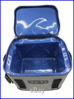 Yeti Cooler Original Hopper Flip 12 Gray & Blue Leakproof