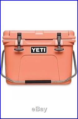 Yeti Cooler Roadie 20 Brand New Limited Edition Coral
