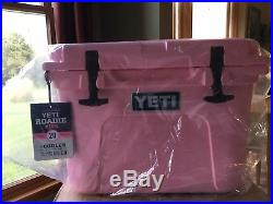 Yeti Cooler Roadie 20 Pink Limited Edition New In Box