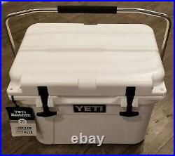 Yeti Cooler Roadie 20 White Discontinued Rare NEW