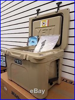 Yeti Cooler Tan Tundra 35 Cooler Size 35 New Yt35t