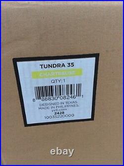 Yeti Cooler Tundra 35 Chartreuse Unused