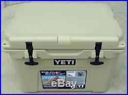 Yeti Cooler Tundra 35 Quart Tan YT35T New