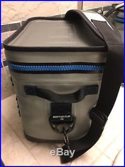 Yeti Flip 12 Leakproof Cooler Gray & Blue