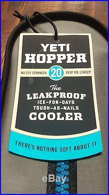 Yeti Hopper 20 Cooler New In Box! Yhop20 Gray
