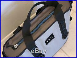 Yeti Hopper 20 Soft Side Cooler Gray Very Nice Barely Used