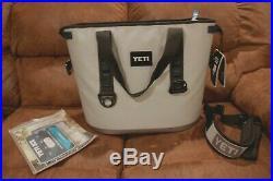 Yeti Hopper 30 Gallon Soft-Sided Leakproof Cooler Gray BRAND NEW