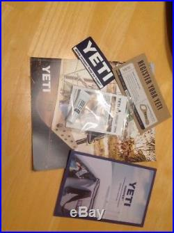 Yeti Hopper 30 Portable Cooler Fog Gray/Tahoe Blue Used Only Once