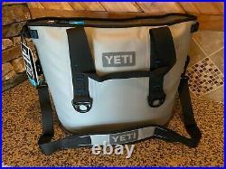 Yeti Hopper 30 Portable Cooler Light Gray