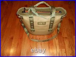 Yeti Hopper 30 Portable Cooler, Tan/Blaze Orange