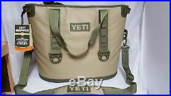 Yeti Hopper 30 Tan/Orange Bag Cooler