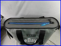 Yeti Hopper 40 Portable Cooler (Fog Gray/Tahoe Blue)