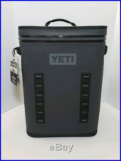 Yeti Hopper BackFlip 24 Back Pack Cooler Charcoal Brand New