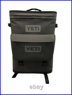 Yeti Hopper BackFlip 24 Backpack Cooler Charcoal with dry bag sidekick
