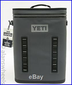Yeti Hopper BackFlip 24 Soft Back Pack Cooler Charcoal Brand New! Free Shipping