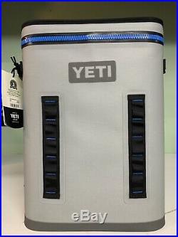 Yeti Hopper BackFlip 24 Soft Back Pack Cooler Fog Gray Brand New with tags