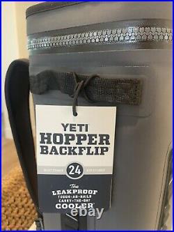 Yeti Hopper BackFlip 24 Soft Sided Backpack Cooler Charcoal