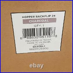 Yeti Hopper BackFlip 24 Soft Sided Backpack Cooler Charcoal New in Orig Box