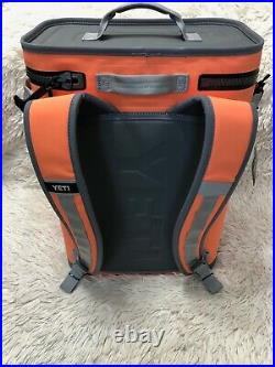 Yeti Hopper BackFlip 24 Soft Sided Backpack Cooler LIMITED EDITION-CORAL