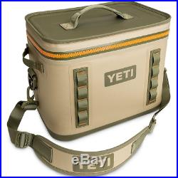 Yeti Hopper FLIP 18 Rugged Soft-sided Leakproof Ice Chest Cooler TAN