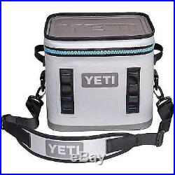 Yeti Hopper Flip 12 Cooler BRAND NEW IN BOX With TAGS Fog Gray Tahoe Blue Yhopf12g