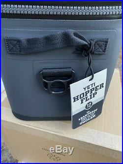 Yeti Hopper Flip 12 Cooler Brand New With Tags Charcoal