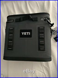 Yeti Hopper Flip 12 Cooler NEW! Charcoal Color