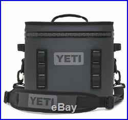 Yeti Hopper Flip 12 Cooler With Tags (Charcoal)
