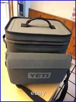 Yeti Hopper Flip 12 Portable Cooler, Charcoal & Sidekick 27747445407816