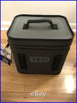 Yeti Hopper Flip 12 Soft Cooler Charcoal Brand New