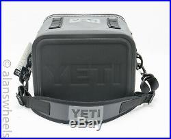 Yeti Hopper Flip 12 Soft Cooler Charcoal Brand New! Free Shipping