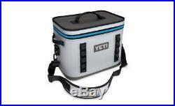 Yeti Hopper Flip 18 Cooler Gray/Blue Brand New 100% Authentic NWT Retail $299