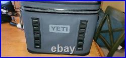 Yeti Hopper Flip 18 Portable Soft Cooler Leakproof Charcoal New