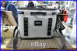 Yeti Hopper Flip 18 Soft Cooler Fog Gray Brand New