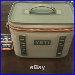 Yeti Hopper Flip 18 Soft-Side TAN ORANGE Cooler Bag YHOPF18 NEW FREE SHIPPING