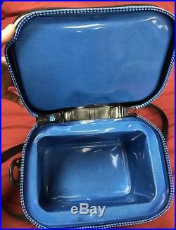 Yeti Hopper Flip 8 Cooler In Fog Gray/Tahoe Blue-Flawless